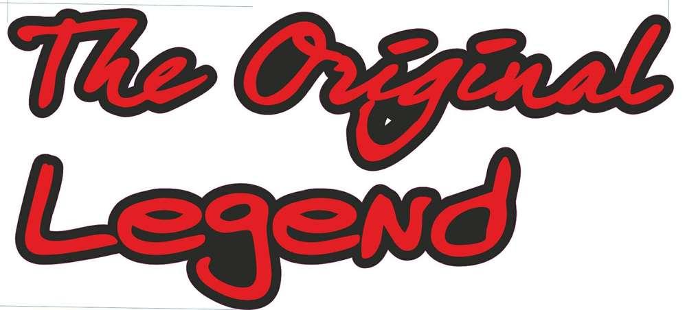 Schriftzug The Original Legend