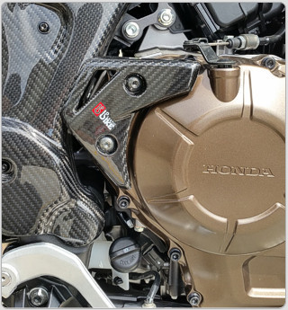 Carbon cover RX engine