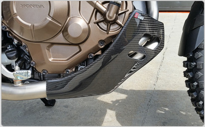 Carbon / Kevlar engine protection