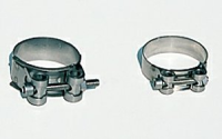 Stainless Steel Exhaust Clamps 44 - 47mm