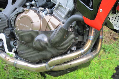 CARBON / KEVLAR rally motor protection