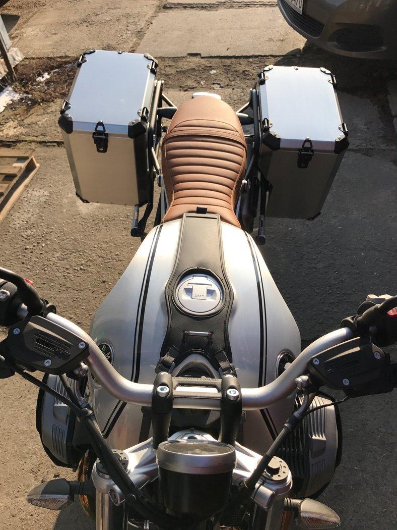 Pannier System BMW R nineT -SCRAMBLER- - AfricanQueens